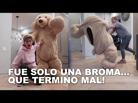Thumbnail: HUMAN IN GIANT TEDDY BEAR PRANK (PRANK WARS)
