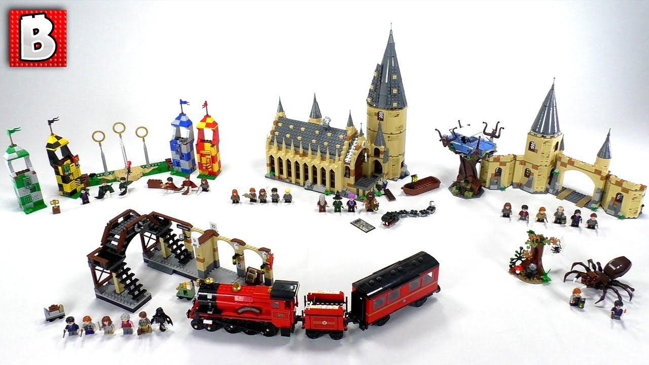 Giocattoli Harry Potter All Lego Harry Potter Sets 2018 Wave Review