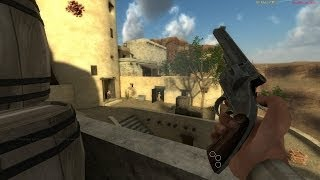 Gunslinger action and random palaver (Fistful of Frags gameplay)