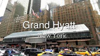 Grand Hyatt New York Hotel Tour | New York, USA | Traveller Passport
