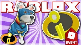 COME ARRIVARE LA BATTAGLIA PUP & INCREDIBLES 2 DISTINTIVO!! (ROBLOX HEROES evento 2018 - supereroe vita 2!)