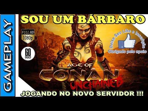 🔴 AGE OF CONAN (AOC) – MMORPG GRATUITO –  GAMEPLAY NO SERVIDOR SAGA OF SAGE COM CONAN O BÁRBARO !