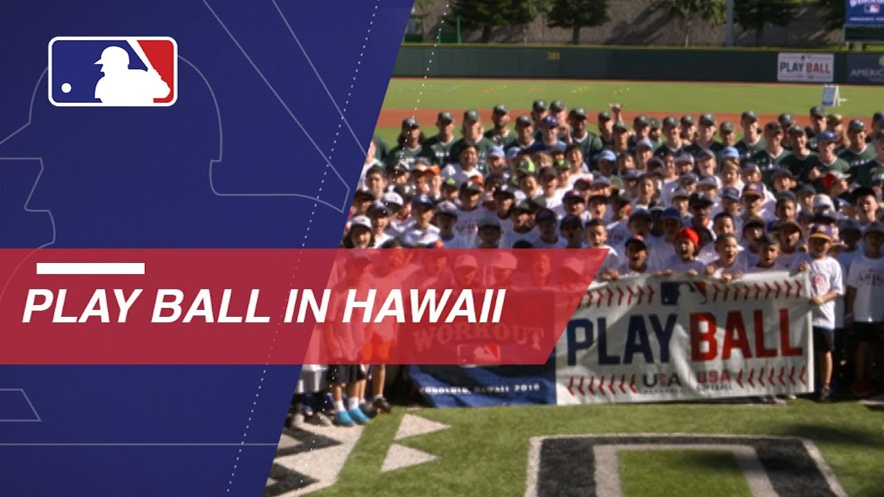MLB stars Play Ball in Hawaii, prepare for Japan Series