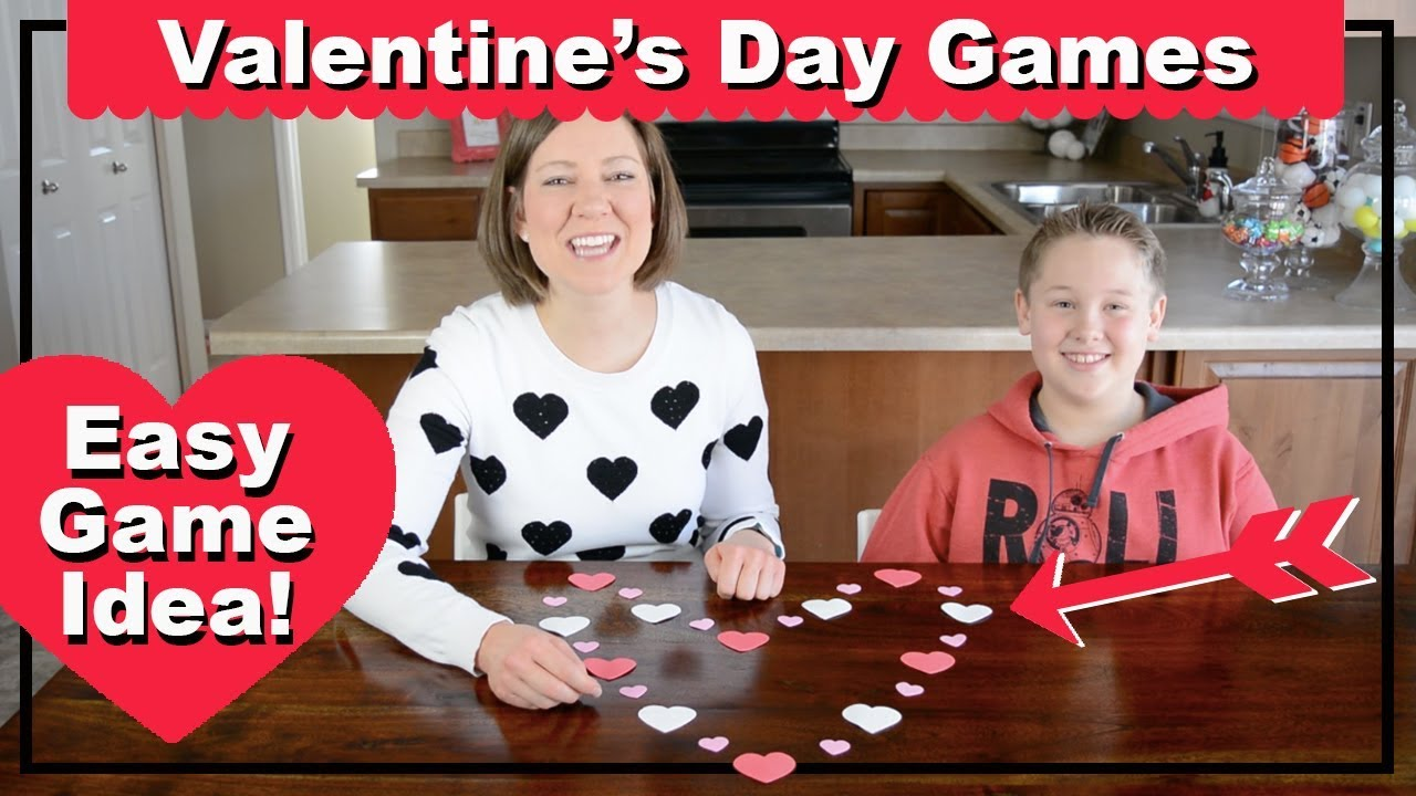 Valentine's Day Games and Activities - Party Game Ideas