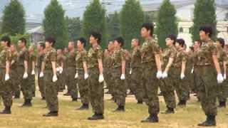 Repeat youtube video 大津駐屯地祭 自衛隊体操 女性自衛官   2015