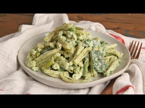 Pasta Salad with Green Goddess Dressing | Ep 1282