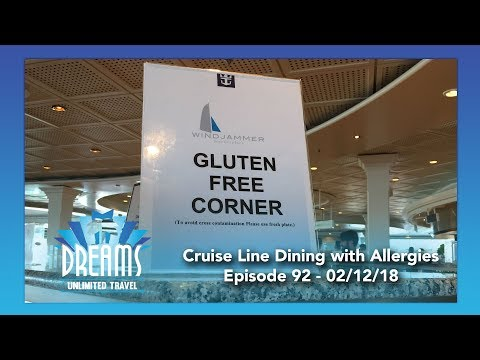 Dining with Allergies on Disney Cruise Line, Royal Caribbean, and Celebrity | 02/12/18