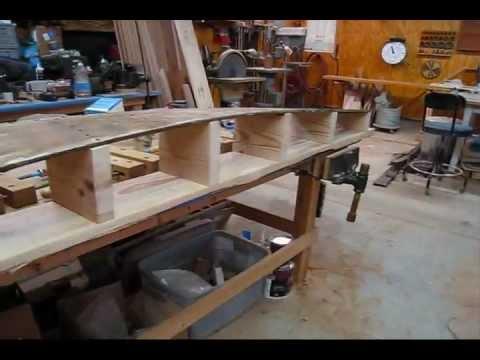 Steam Bending Mahogany Garboard Plank (Preview) Wooden Boat Restoration