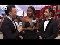 Riz Ahmed on the Red Carpet | 23rd Annual SAG Awards | TBS