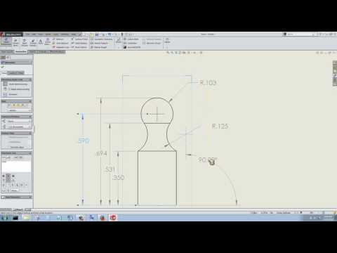 Solidworks Intro - 11 - Drawings (pawn, rook)