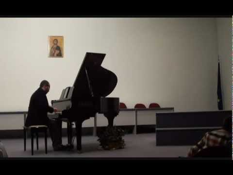 The christmas song from a recital in Konitsa Greece