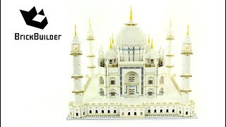 Lego Creator 10189 Taj Mahal - Special for 1.000.000 subscribers - Lego Speed Build