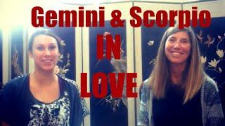 Gemini & Scorpio Love Compatibility