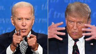 video: US election debate: 'Will you shut up, man?' snaps Joe Biden at Donald Trump in angry, chaotic showdown