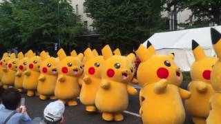 Pokemon Pikachu Funny Dance with the Gummy Bear Kids Song Nursery Rhymes for Children