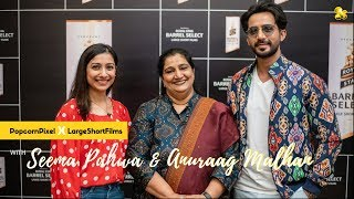 PopcornPixel x LargeShortFilms     Filmmaking & Content with Seema Pahwa & Anuraag Malhan
