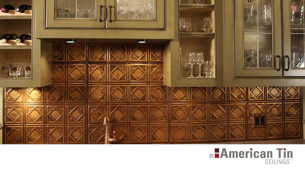 Tin Tile Backsplashes Overview | American Tin Ceilings ...