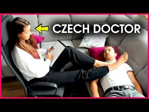 Czech Psychologist using SHOCK THERAPY to cure FOOT FETISH