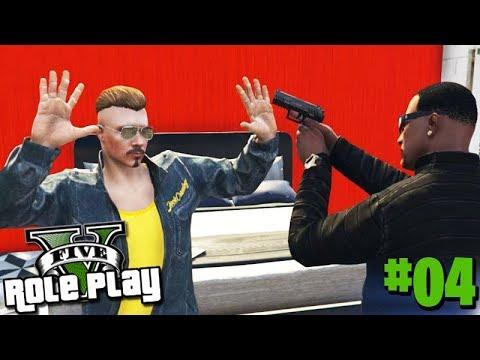 GTA 5 ROLEPLAY - TRETA DENTRO da FAVELA!!! #04