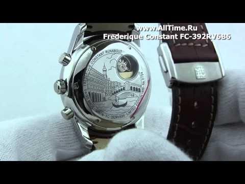 Мужские наручные швейцарские часы Frederique Constant FC-392RV6B6