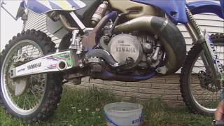 YZ250 Oil Change & Pre Race Inspection - Motovlog Episode 17 (Season 1)