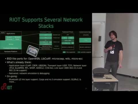 RIOT: The friendly operating system for the IoT! – Oliver Hahm
