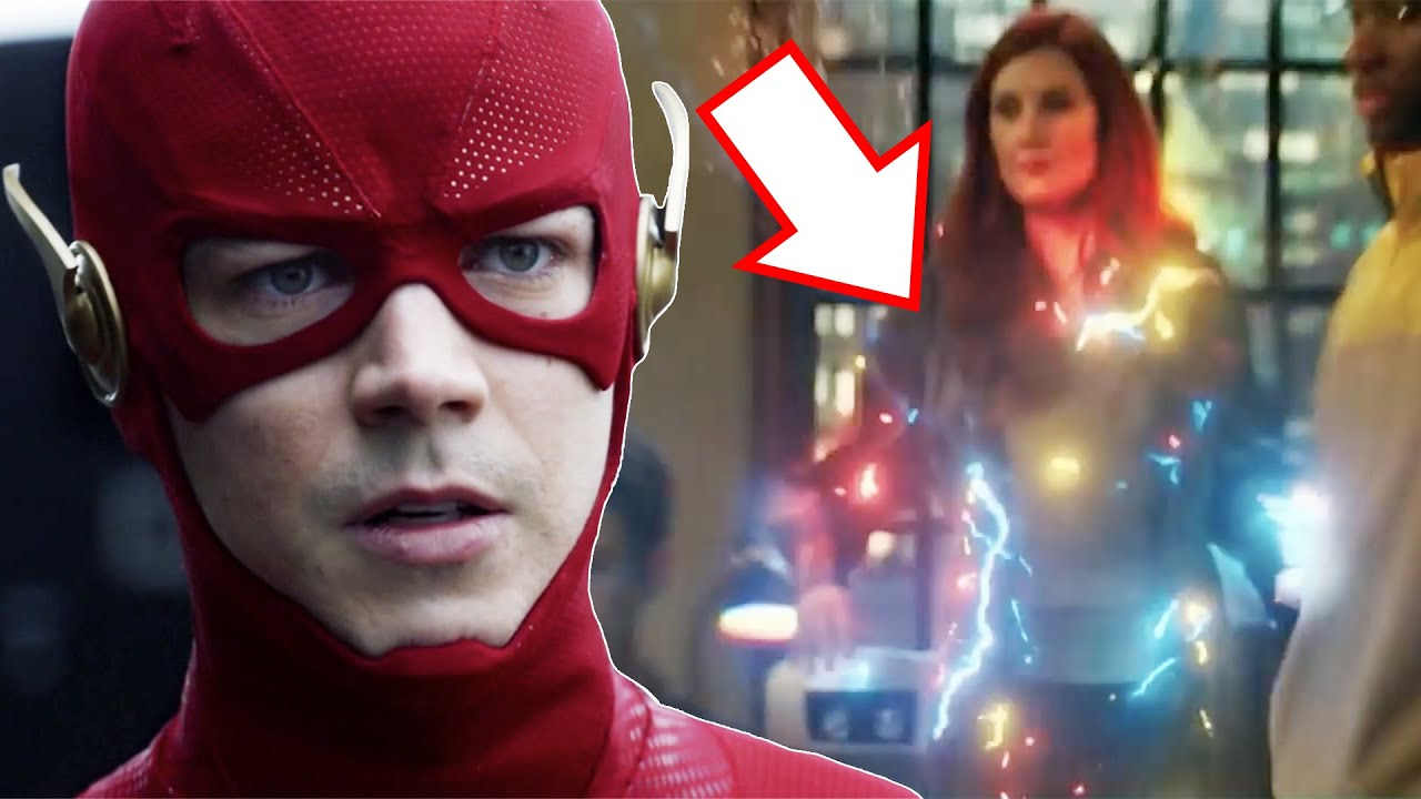 Download Barry Gets MEGA Speed Force Powers! EVIL Speed Force Mystery! - The Flash 7x07 Trailer Breakdown!