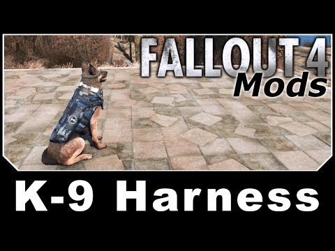 Fallout 4 Mods - K-9 Harness