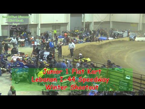 Junior 1 Flat Kart - I-44 Speedway Winter Shootout 1-19-2018