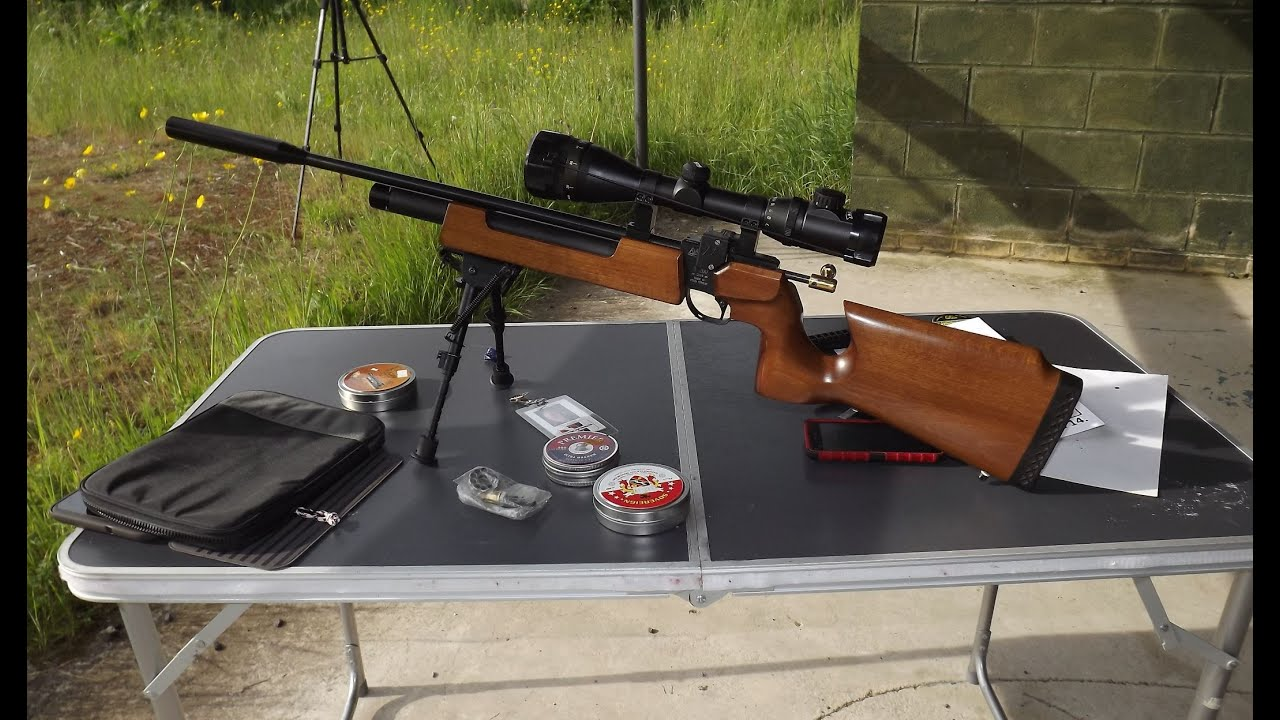 107 Yard Extreme Bench Rest Shooting With Sub 12 Ft Lbs Air Rifle Youtube