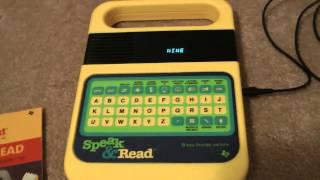 The Texas Instruments Speak & Spell/Read/Math
