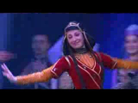 Georgian Dance Lezgi from Tiblisi