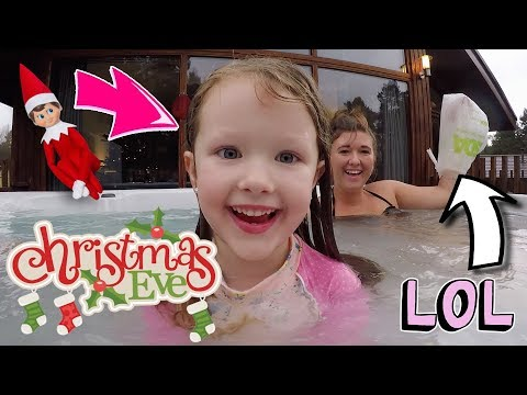 CHRISTMAS EVE SPECIAL - HOT TUB PARTY + SECRET SANTA REVEALED! - FAMILY TRADITIONS! VLOGMAS DAY 25!