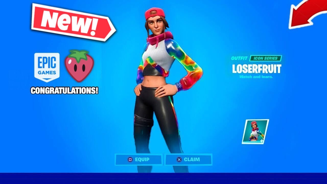 *NEW* LOSERFRUIT Skin In Fortnite! (Price, Release Date, Set & More)