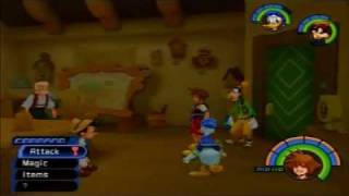 Lp Kingdom Hearts Pt 46: Blueprints In Traverse Town