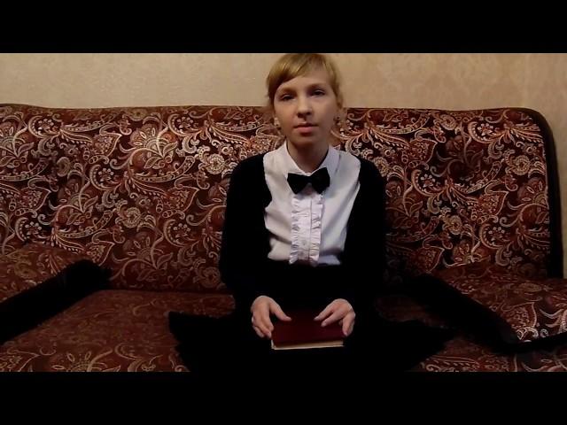 Изображение предпросмотра прочтения – ЕлизаветаБелова читает произведение «Книги в красном переплете» М.И.Цветаевой
