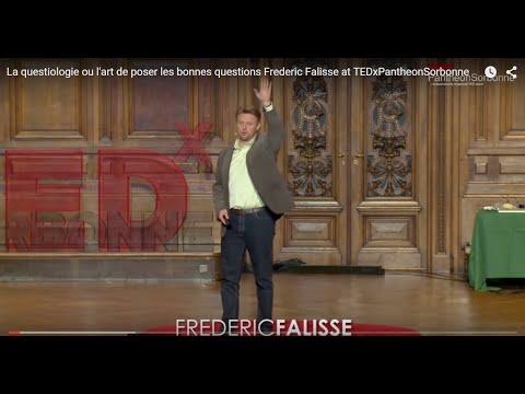 Questionology - Asking better questions - TEDx Pantheon Sorbonne