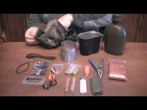 My Canteen Cook Set Survival Kit Youtube