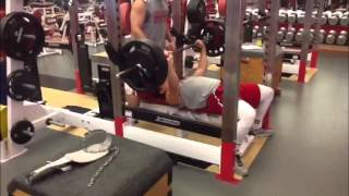 Indiana Baseball Weight Room Fall 2013