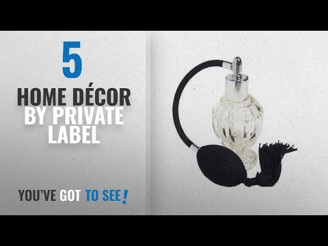 Top 10 Home Décor By Private Label [ Winter 2018 ]: Vintage Style Refillable Empty Glass Perfume