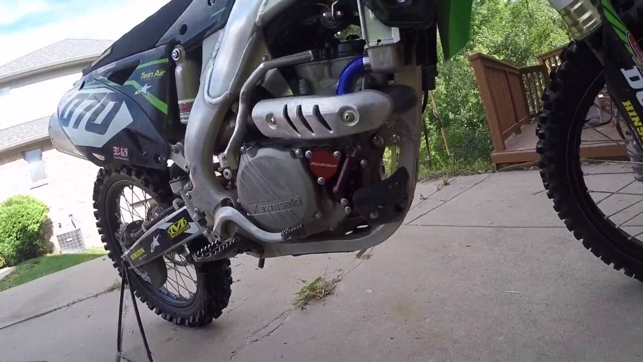 How To: 2013 KX250F Oil Change