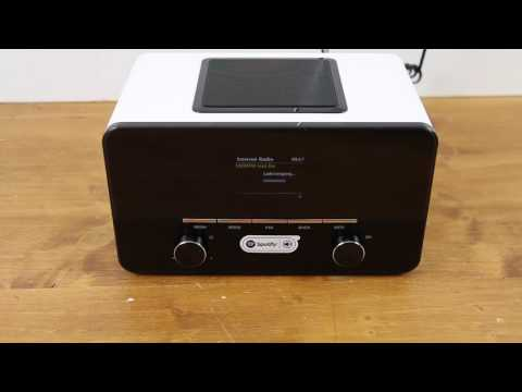 auna connect 150 WH 2 1 Internetradio Wlan Test