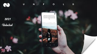 Gambar cover How To Unlock Unfold templates for free ( Ripped Papers)   Unfold Android + Free lightroom Preset
