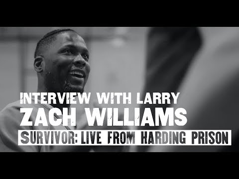 Zach Williams - Interview With Larry (Live From Harding Prison)