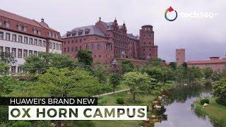 Sneak peek at Huawei's new Ox Horn Campus