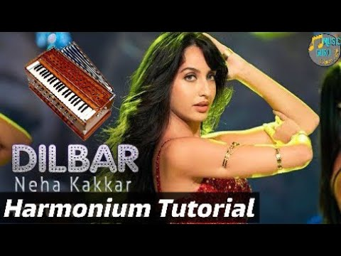 Dilbar Dilbar || Harmonium Tutorial || Hindi Song On Harmonium || Music Guru