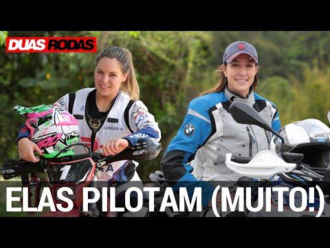 MULHERES MOTOCICLISTAS: ELAS