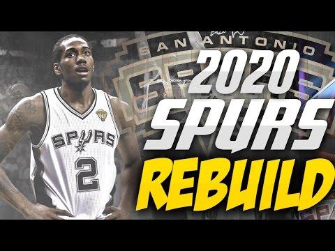 Rebuilding the 2020 San Antonio SPURS!! LIFE WITHOUT POP!! - NBA 2K17 MYLEAGUE