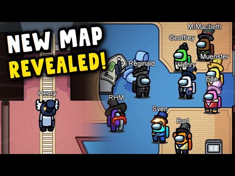 5up Analyzes the NEW Among Us Map! - THE AIRSHIP
