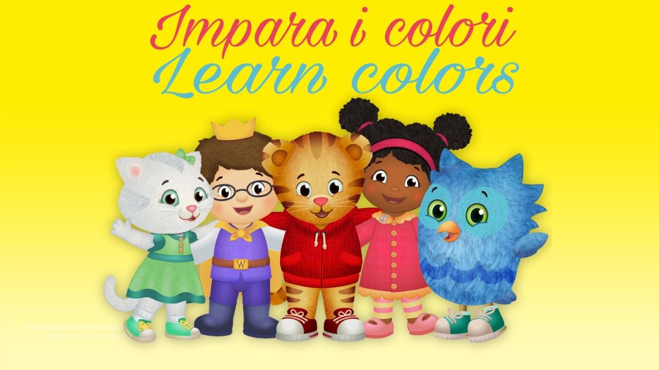 Coloring Book Disegni Da Colorare Impara I Colori Learn Colors